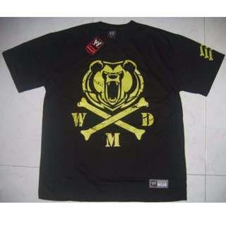 WWE Big Show Crossbones T-Shirt WWF WEW ECW TNA UFC MMC
