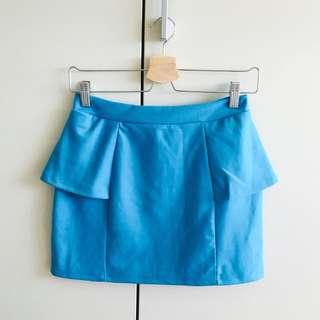 Factorie Sky Blue Skirt