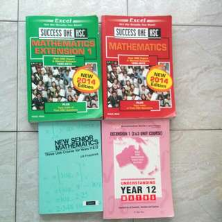 HSC Mathematics 2 Unit And 3 Unit Textbooks