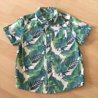 FRESHLY PICKED | Tropical Shirt | Size 2T
