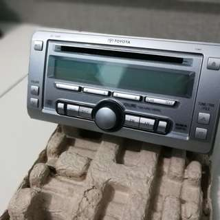 Original Toyota vios E spec 2 din CD player