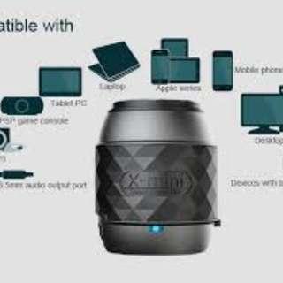 X mini we Bluetooth