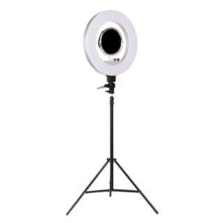 5800 Lumens Ring Light with Stand Silver SKU: RL-FL-006-SI