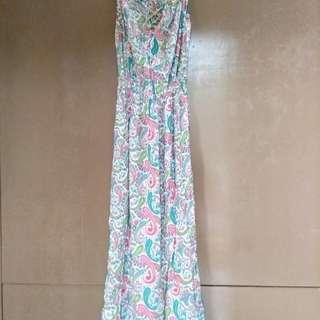 Long Dress w/ Adjustable Straps