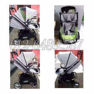 Stroller Sweet Cherry OXFORD