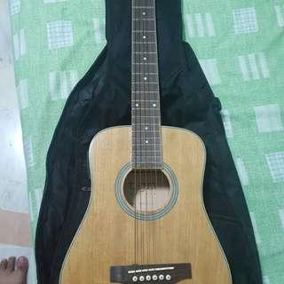 Rare Mini size Electric Accoustic Guitar.