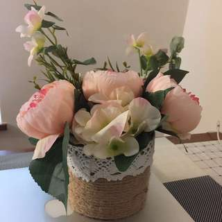 decorative flowers x2