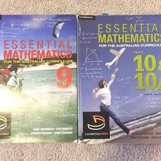 Cambridge mathematics year 9&10