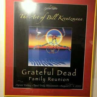 Greatful Dead Concert Poster $5000