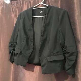 Black dotti size 12 jacket