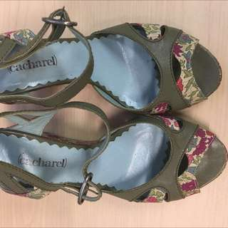 #11flashsale I.T. French Brand Cacharel Platform Summer Shoes Size 38