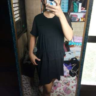 Black Oversized Dress