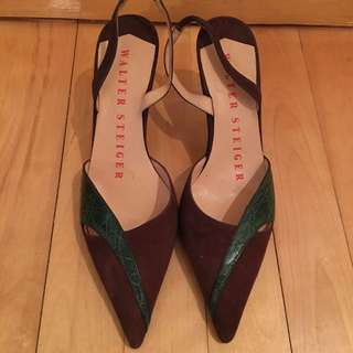 Walter Steiger Shoes Bought From Lane Crawford Size 35.5