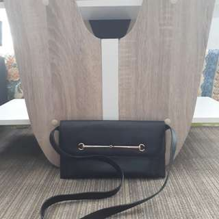 Authentic Gucci leather sling bag