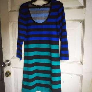 Casual stripey dress