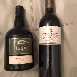 Wine (California & South Africa)