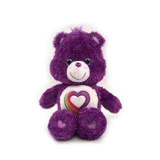 Carebear 稀有款 彩虹愛心熊