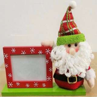 Plush Santa Picture Frame