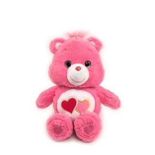 Carebears 粉色雙心熊 32cm