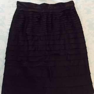 Silk Corporate Skirt