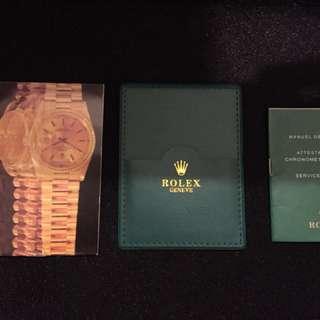 勞力士 Rolex (書仔,皮套)