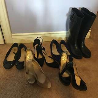 A Variety Of Women's Shoes