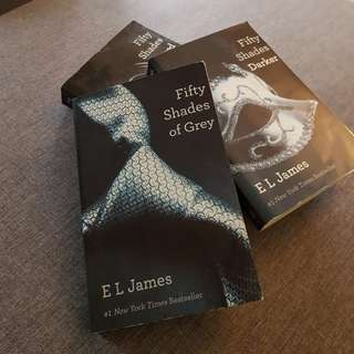 Fifty Shades Of Grey, Darker, Freed