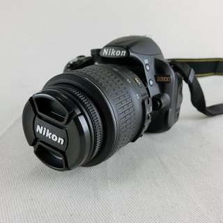 Nikon D3100 數位單眼相機 + 18-55mm VR鏡頭 公司貨  快門數10960