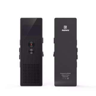 Remax Digital Voice Recorder Support MP3 Player with Mic RP1 BLACK