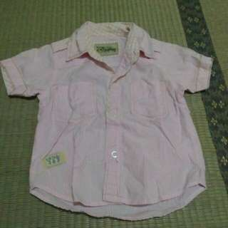 Pink Short Sleeve Polo 2YO