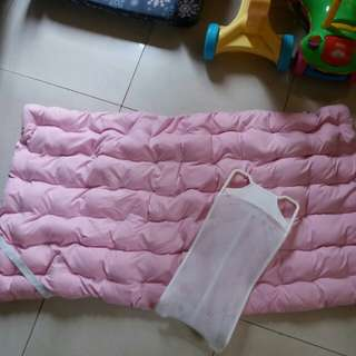 Preloved Crib Mattress Enhancer & Bath Net