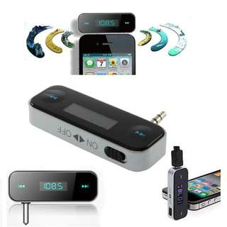 In-car Handsfree FM Transmitter MP3 Player AUX In Mobile Phone iPhone