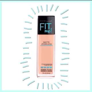 Maybelline Fit Me! Matte Poreless Foundation