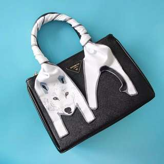 Animal twilly for bags