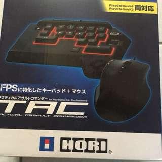 HORI PS4 專用滑鼠鍵盤