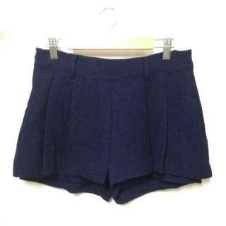 Navy Blue Dressy Shorts