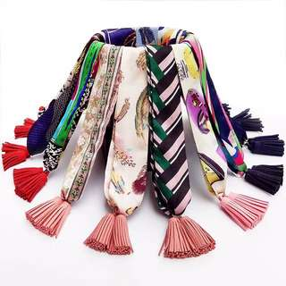 Tassel Twilly scarf