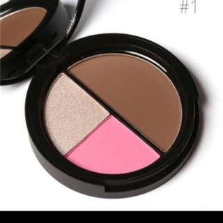 Focallure Contour Blush Highlighter