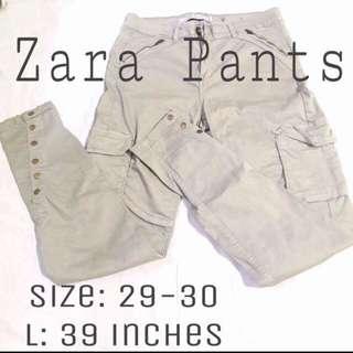 Zara Army pants