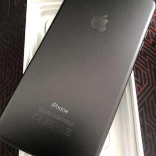 Iphone 7+ 7plus 128gb Matt black