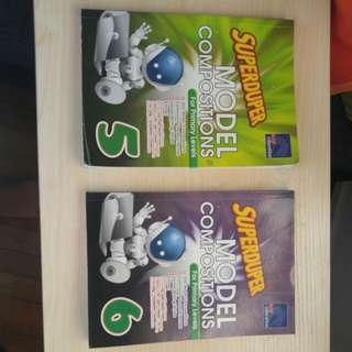 Super duper Model compositions book for primary 5&6