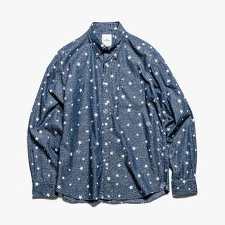 UE uniform experiment indigo star B.D. Shirt FCRB