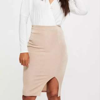 NUDE Midi Skirt size 12