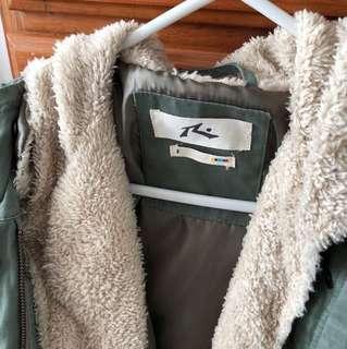 Rusty winter coat