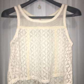 Free people tank top blouse