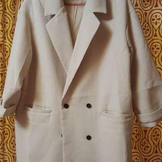 🚚 韓版長西裝外套