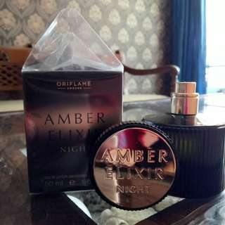 Parfum Amber Alexier Oriflame