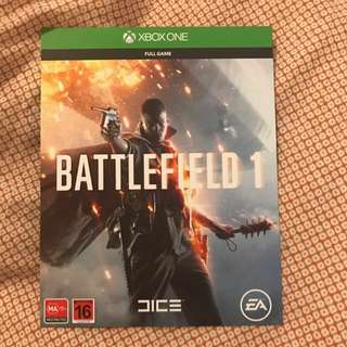 Xbox One Battlefield 1 Digital Download