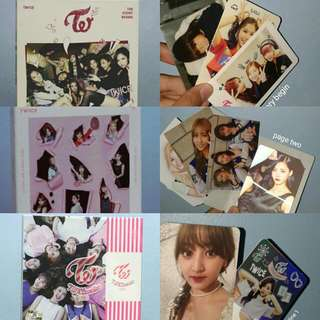 (SALE!!!) TWICE ALBUM FULL SET UNSEALED