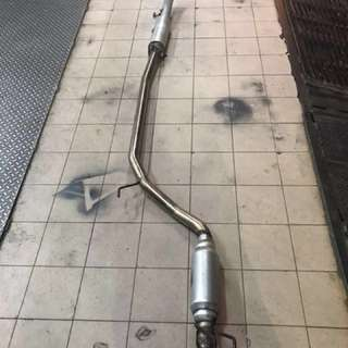 Exhaust USED for 2months on fd2